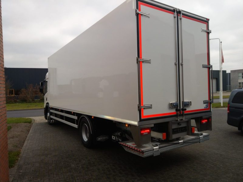 """Scania P280 """"Chassis Cabine"""" - Thermovans"""